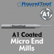 Micro End Mills - A1 Coated