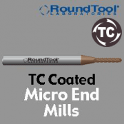 Micro End Mills - TC Coated