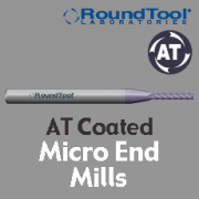 Micro End Mills - AT Coated