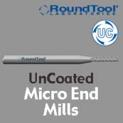 Micro End Mills - Uncoated