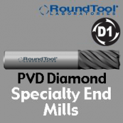 Specialty End Mills - PVD Diamond