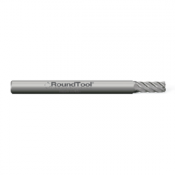 .031 Ø .093 x 1-1/2 x 1/8 5 Flute Square End Carbide Micro End Mill for Finishing